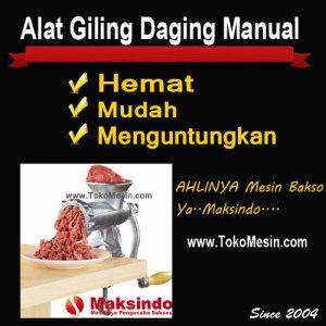 Alat Giling Daging Manual 2