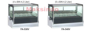 Mesin Ice Cream Scooping Cabinet 2