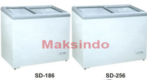 Mesin Sliding Flat Glass Freezer 2