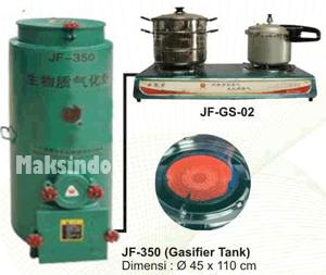 Kompor Gas Biomas (Gasifier  Stove) 3